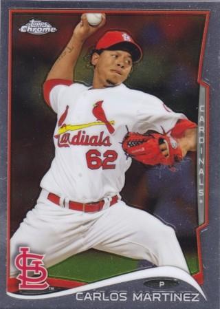 Carlos Martinez 2014 Topps Chrome St. Louis Cardinals