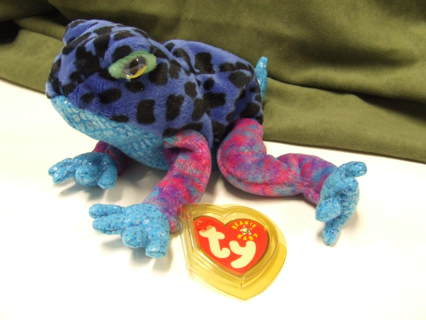 Free  TY Original Beanie Babies Dart the Frog - Dolls   Stuffed ... cff46b11285