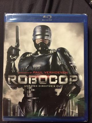 ROBOCOP BLU-RAY UNRATED DIRECTOR'S CUT