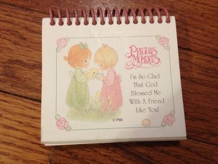 "Precious Moments ""Friends"" Flip Book - LPO"