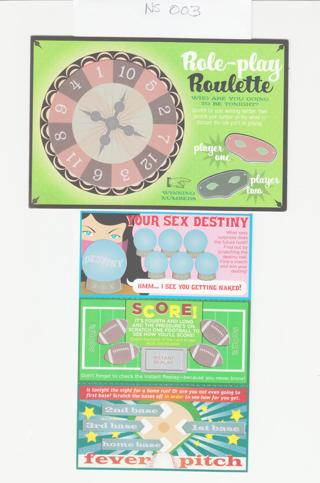 Naughty Adult Scratch-Offs as shown NS003