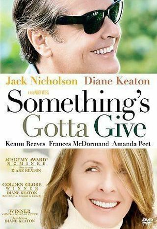 Something's Gotta Give DVD ⭐DISC ONLY ⭐Jack Nicholson, Diane Keaton