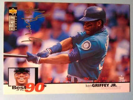 Upper Deck Best of the 90dBaseball Trading Card Ken Griffey Jr.
