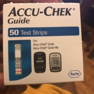 Accu-Check Test Strips!