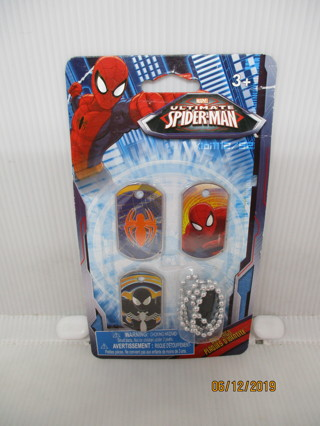 NEW ! ULTIMATE SPIDER-MAN DOG TAGS