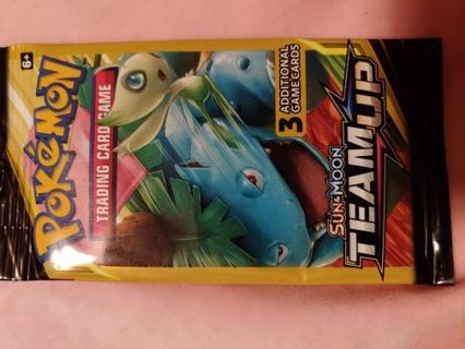 1 PACK OF POKEMON CARDS