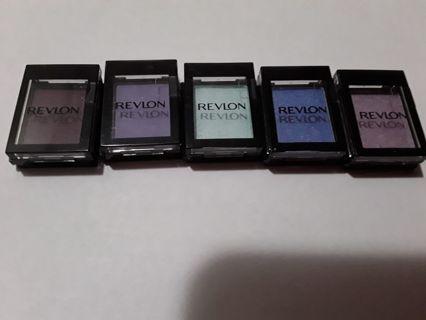 5 Revlon eyeshadows NEW