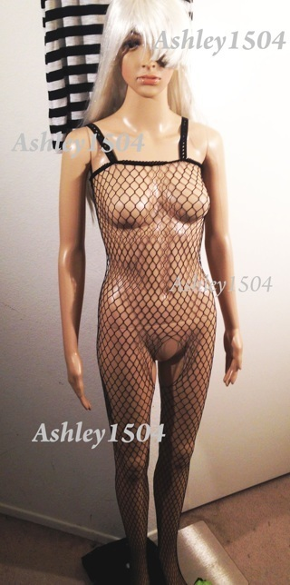 NEW Fishnet Lingerie Body Stocking One-Piece Bodycon FREE SHIPPING