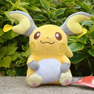 Pokemon Plush Toy Raichu 14CM Collectible Soft Stuffed Animal Cute Gift Doll