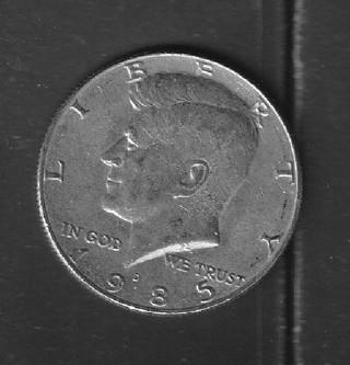 1985D Kennedy Half Dollar higher grade
