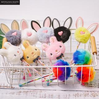 New Plush Gel Pens Kawaii School Supplies Stationery Gel Ink Pens Gift School Stationery Office Su
