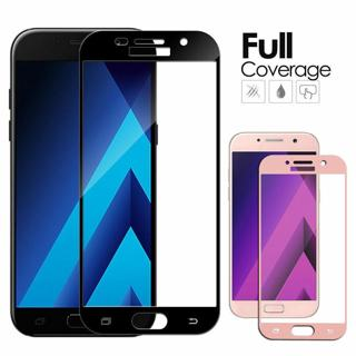 For Samsung Galaxy A3 A5 A7 2016/2017 Full Cover Tempered Glass Screen Protector