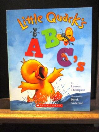 Little Quack's ABC's - by Lauren Thompson