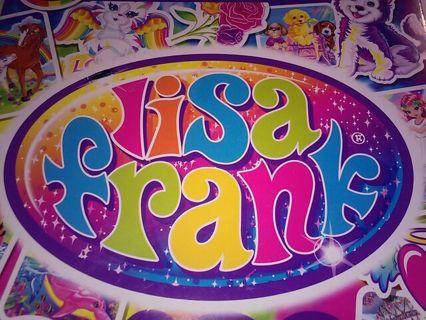 *@• LISA FRANK Stickers *@• #36