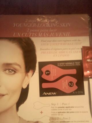 ~!!!***AVON 2 Step Wrinkle Test***!!!~**!!Get BONUS Skincare Sample with LOW GIN!!**~