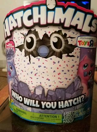 ☄☄Hatchimal Owlicorn PINK N BLUE LOWERED GIN☄☄