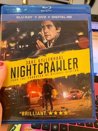 The Nightcrawler BLU RAY & DVD Crime Action Movie