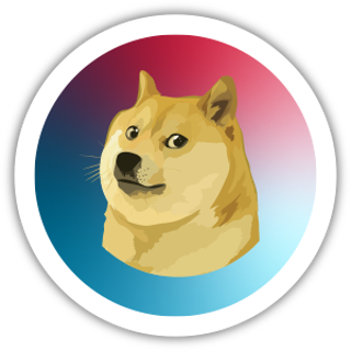 Collectible NFT Badge: I ❤️ DOGE #6 of 10