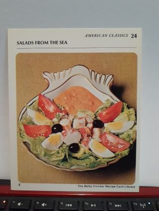 Salads from the sea
