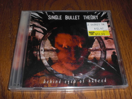 Single Bullet Theory, Behind Eyes Of Hatred. New, Sealed CD. Metal.