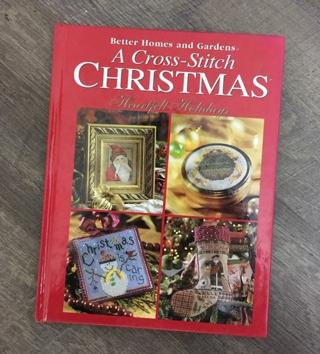 Vintage cross stitch pattern book christMAS