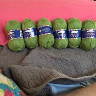 Yarn - New - Green