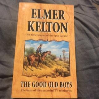 Elmer kelton book