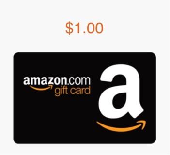 ($1) AMAZON GIFT CARD!!