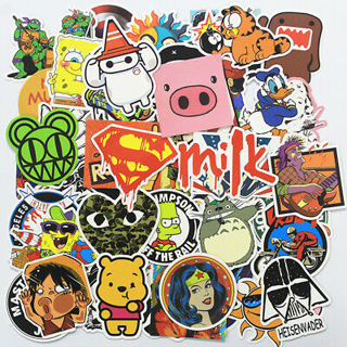(7) NEW MYSTERY RANDOM Pack Stickers *Luck of The Draw* (7) Random Pop Culture Art Music Movie Anime