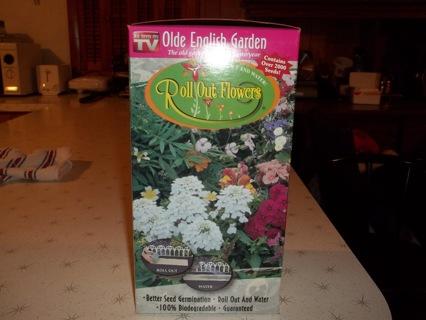 Roll Out Flower Garden!!!