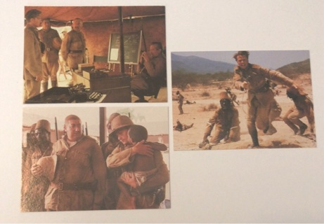 3x Young Indiana Jones Chronicles Trading Cards 1992