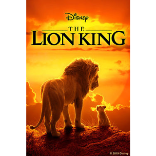 The Lion King code (2019) (Google Play HD Digital Copy)