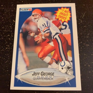 Jeff George (rookie card)