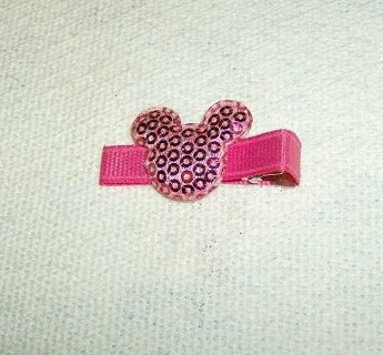 Disney Mickey Mouse Barrette for a Little Girl or a Baby.  ***So Cute***