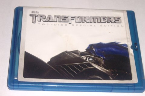 TRANSFORMERS BLU-RAY- 2 DISC SPECIAL EDITION