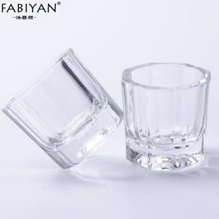 2PCS / Lot Glass Crystal Bowl Cup Dappen Dish Arcylic Powder Holder Container Tool Nail Art Manicu
