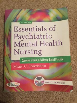 Free Essentials Of Psychiatric Mental Health Nursing 5th Ed Mary C