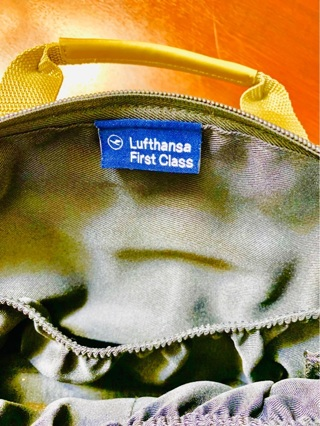Brand New Made in Germany by Van Laack Highly Collectible & Rare Lufthansa First Class Cosmetics Bag