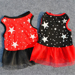 [GIN FOR FREE SHIPPING] Small Pet Dog Fashion Costume Puppy Cat T-Shirt Summer