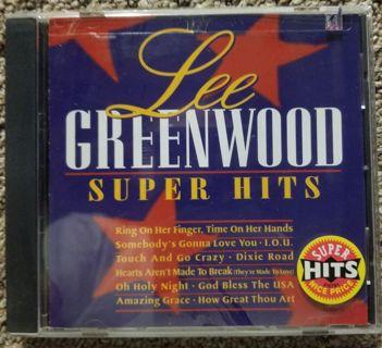 Lee Greenwood super hits cd.