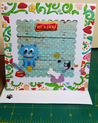 """~~BN """"LETS PLAY"""" HAND CRAFTED CARD~~"""