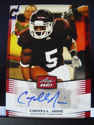 2012 Leaf Draft CORYELL JUDIE Rookie Autograph
