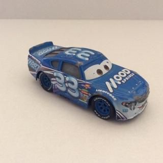 Disney Pixar Cars 3 Diecast Car 1:55 Dud Throttleman Mood Springs Nascar Car