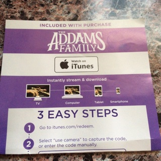 The Addams Family iTunes