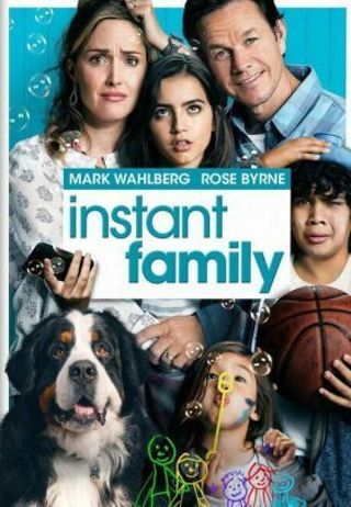 Instant Family *DIGITAL HD CODE ONLY FOR BOTH VUDU & ITUNES REDEEMS* *DOESNT PORT TO MOVIESANYWHERE*