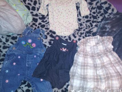 Little girl clothes used No refunds!