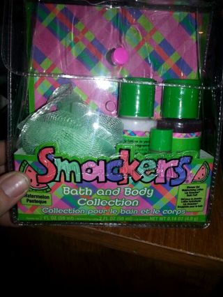 Smackers Bath and Body Collection watermelon.