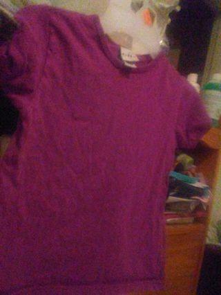 6/6X Purple Top