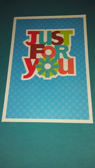 Birthday Cards - Just For You