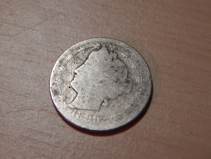 1899 Liberty V Nickel